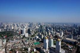 La vue de Bangkok