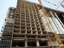 Un édifice en construction