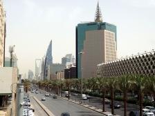Rue principale à Riyadh