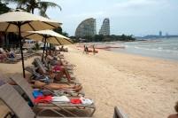 La plage de notre hôtel