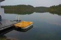 Un lac bien calme