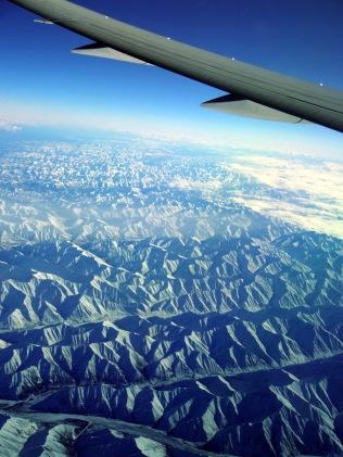 Une vue de l'avion