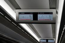 Dans le train vers Tokyo