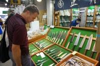 Des couteaux japonais