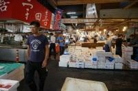 Enfin le marché de poissons