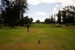 Une partie de golf au Mililani