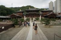 Le temple près du jardin