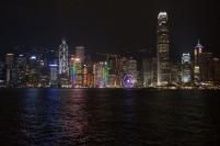 Hong Kong le soir