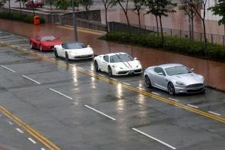 Des autos de luxe