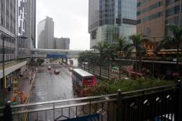 Passerelle à Hong Kong