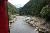 Belle vue de la rivière