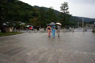 Des filles en Kimono