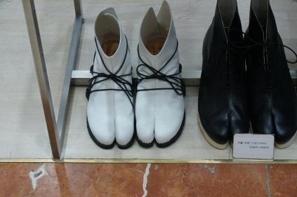 Des souliers spécifiques pour les Shoguns.