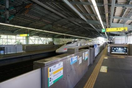 L'arrivée de notre train