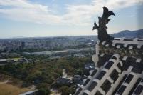 La vue de la ville à partir du chateau