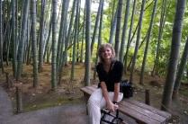 Une forêt de bamboo