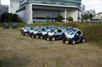 En face de chez Nissan à Yokohama