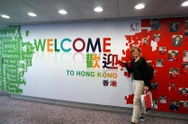 Arrivée à Hong Kong