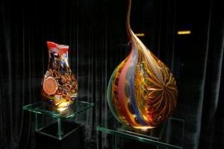 Exposition de verre Murano