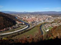 Vue de la ville de Celje