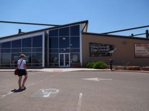 Le musée des pistes de dinosaures