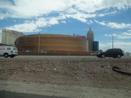L'amphithéatre de l'Équipe de la LNH de Las Vegas