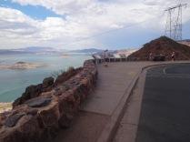 La vue de l'observatoire du lac Mead