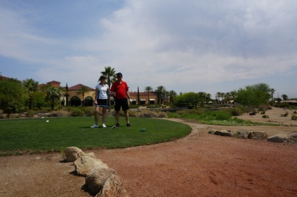 On commance le golf