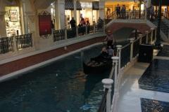 Un tour de gondole au Venitian