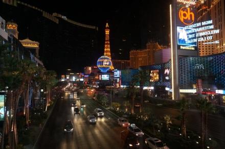 La Strip la nuit, plus impressionnante