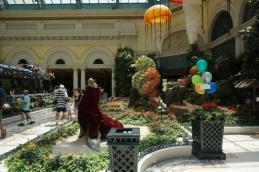 Les magnifiques jardins du Bellagio