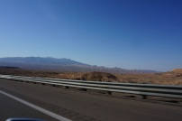 C est assez desertique entre Las Vegas et l'Utah