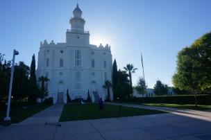 Le temple des Mormons à St.Georges