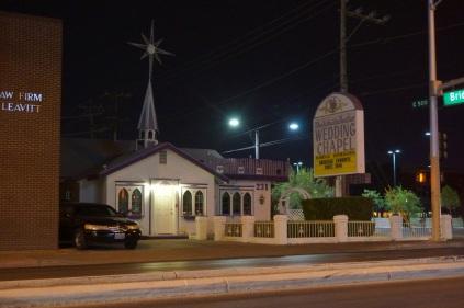Tiens, une chapelle pour les mariage