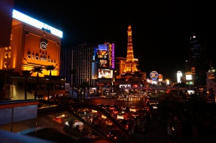 Las Vegas, la nuit, des lumières partout
