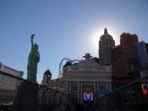 Le coucher de soleil sur New York