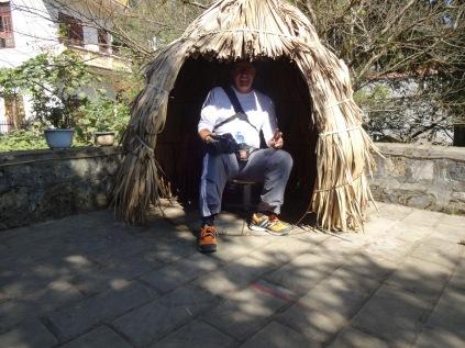 A l'entrée du musée de SAPA, une tente pour une seule personne