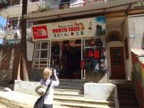 TIens, un des centaines de magasin North Face