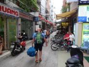 Une ruelle vers l'hôtel