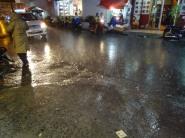 La pluie torrentielle