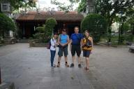 Prés de la pagode