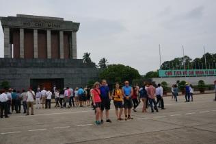 La mausolée de Ho Chin Minh