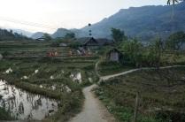 Village à l'horizon