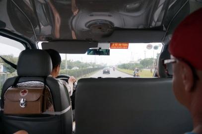 En route pour la baie maritime