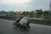 On transporte toutes sortes de choses