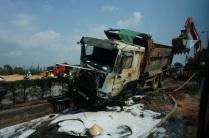 Accident qui bloque la circulation