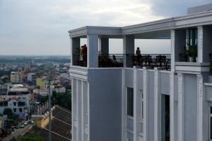 Vue de Hué et l'hôtel