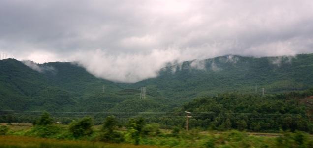 Une belle vue des montagnes
