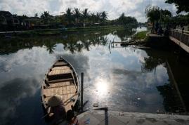 Une photo de la rivière utilisé par les marchands japonais, chinois et européens