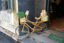 Vélo de bamboo
